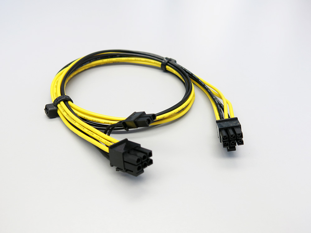 24 Inch 6pin To 8 6 2 Pin Pcie Gpu Power Cord Cable