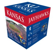 KUBE Bluetooth Speaker, Kansas Jayhawks