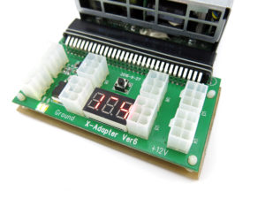 Server Power Supply Common Slot Adapter Breakout Board