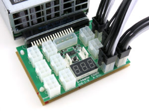 Dell PowerEdge Power Supply Breakout Board