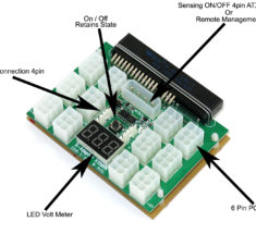 PowerEdge Power Supply Breakout Board