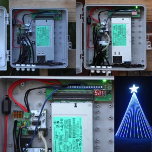 BKR4X pixel light display - DIY LED breakout board