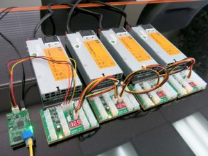 Remotely Managed 3000W Power Supply Kit for mining